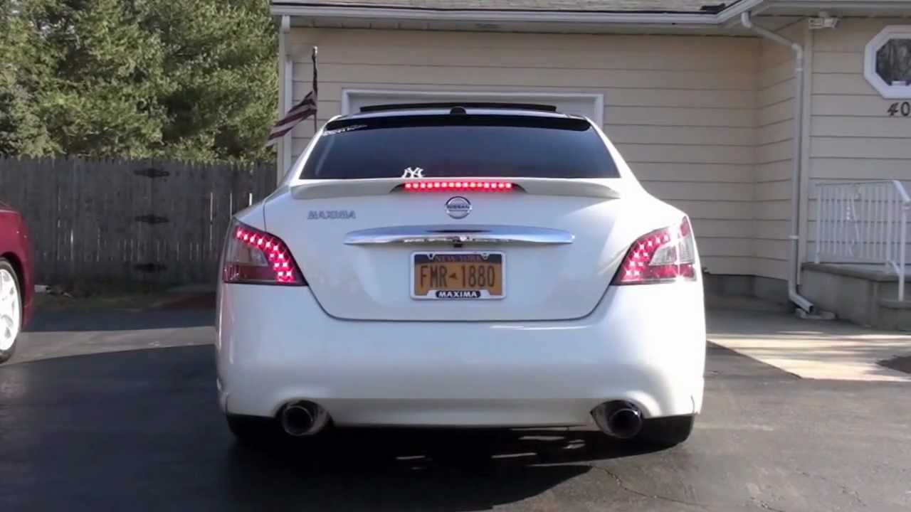 2011 7th Gen Nissan Maxima AAM Competition Cat-back exhaust