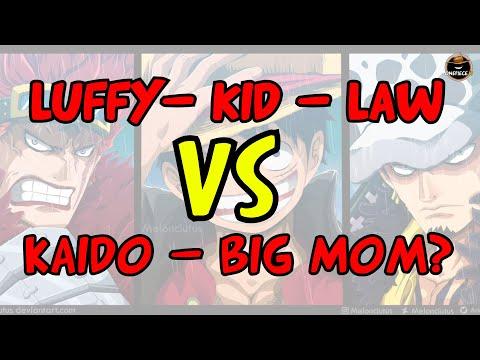 LUFFY, KID e LAW affronteranno KAIDO e BIG MOM? - One Piece Capitolo 996