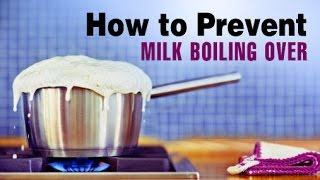 How to Prevent Milk From Boiling Over | Unbelievable Kitchen Tips and Tricks | Wow Recipes thumbnail
