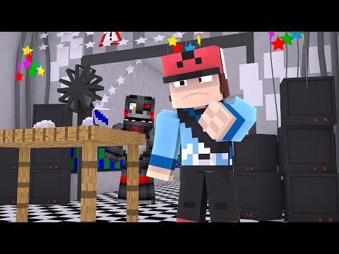 Minecraft FNAF 6 Pizzeria Simulator - LEFTY IS FOLLOWING US! (Minecraft Roleplay)