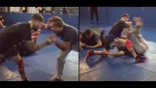Cody Garbrandt vs Urijah Faber | Wrestling