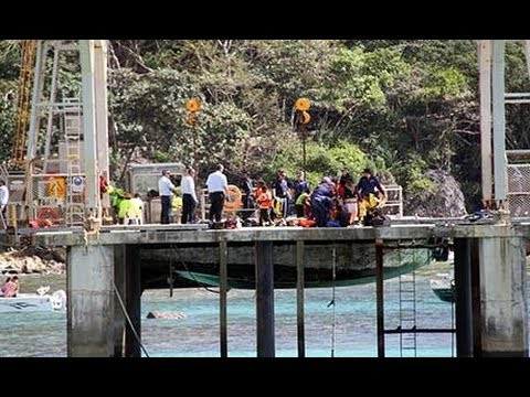 Four dead after boat capsizes off the coast of Christmas Island