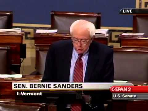 Bernie Sanders: The American Dream Turned into a Nightmare (9/4/2007)
