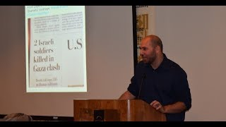 """2017 Summer Intern Lecture Series: """"Fighting for Truth"""" with Omar Baddar"""