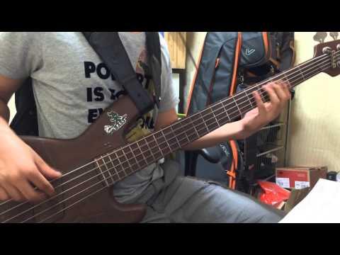 정은지 서인국 - All for you bass cover 1st try