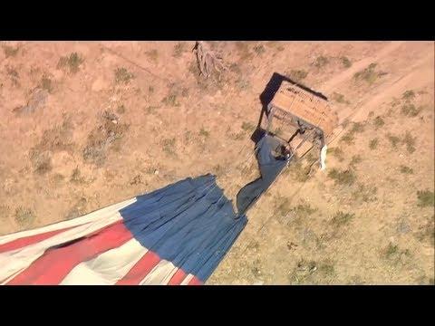 تحطم منطاد هوائي في صحراء لاس فيغاس  - 13:55-2019 / 9 / 13