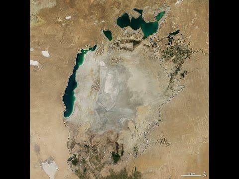 El Mar Aral se esfuma