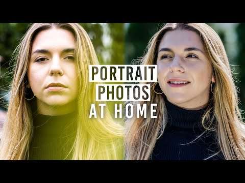 Portrait Photography At Home: Photography Tips for Beginners