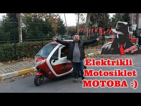 KRAL Elektrikli motosiklet araba MOTOBA | Dikkat Aşırı eğlence İçerir :)