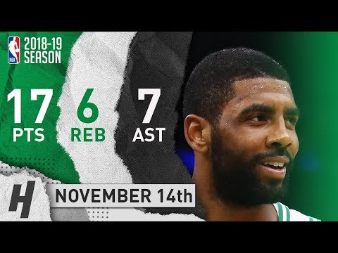 Kyrie Irving Full Highlights Celtics vs Bulls 2018.11.14 - 17 Pts, 7 Ast, 6 Rebounds!