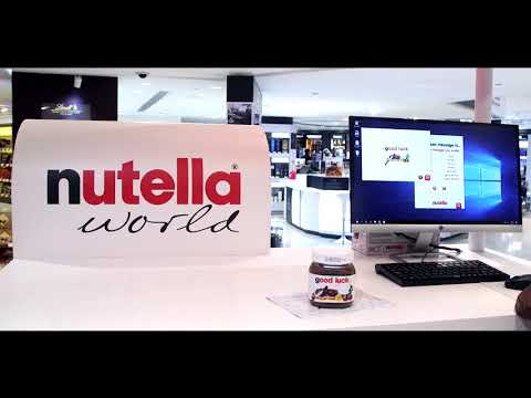 Nutella Personalized Jars at Abu dhabi airport Duty Free from YouTube · Duration:  31 seconds