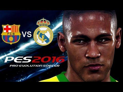 PES 2016 Barcelona vs Real Madrid Super Clasico
