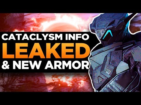 Anthem | Major Cataclysm Details Datamined! | New Armor & Weapons Leaked!