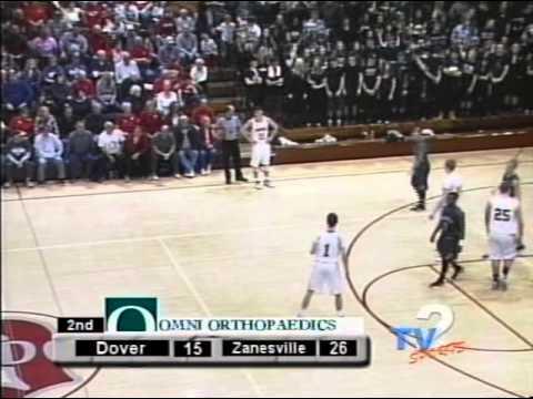 Zanesville at Dover HS Boys Basketball 2 13 15