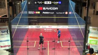 Savcor Finnish Open M Final Tuominen FIN  - Gawad EGY