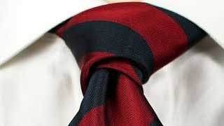 Christensen Tie Knot | Expert Knots | How to Tie a Necktie
