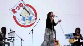 2010・10・17 小牧市民祭りでのライブ.
