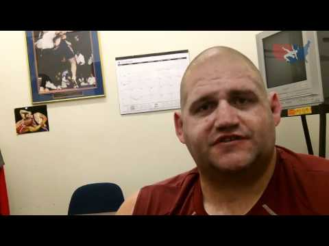 Rulon Gardner works out at the OTC