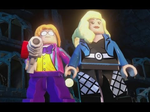 LEGO Batman 3 - Toyman & Black Canary (Unlock Location & Free Roam Gameplay)
