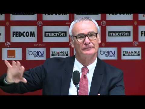 "Claudio Ranieri: ""Vollbringen jede Woche Wundertaten"" | AS Monaco - FC Sochaux 2:1"