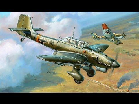 Пикирующий бомбардировщик, штурмовик Ju 87 Самолеты Германии, 1941-1945 История авиации, 9-й фильм