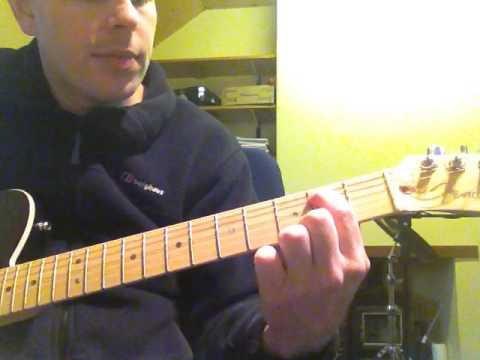 Wishing Well (Free) - Open Position Guitar Riff - YouTube