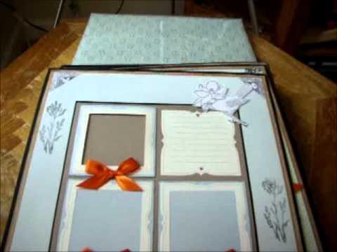 Martha Stewart Scrapbook Wedding Album Youtube