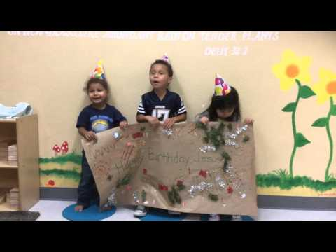 Happy Birthday Jesus from our Children's Center