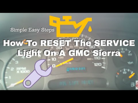 How To Reset Oil Percentage On Your 2003 Chevy Suburban