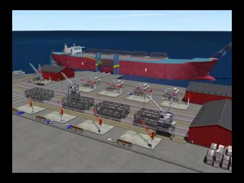 Floating Production Storage and Offshore (FPSO) Loading Vessel 3D Industrial Animation
