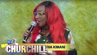 Victoria Kimani On Churchill Show