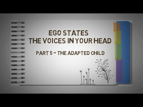 5. Transactional Analysis - EGO STATES - The VOICES in Your HEAD - THE ADAPTED CHILD