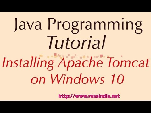 tomcat apache  for windows