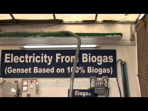 Electricity generated from Bio gas - Sulabh Museum of toilets, Delhi
