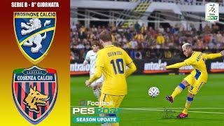 Pes 2021 Serie B • Frosinone Vs Cosenza • (8° Giornata)