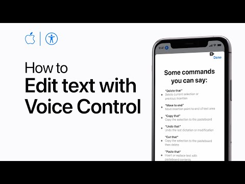 How to use dictation and edit text with Voice Control on your iPhone — Apple Support