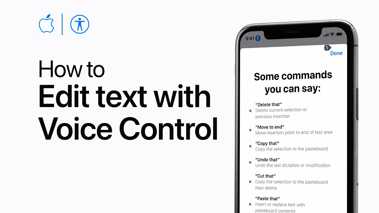 How to use dictation and edit text with Voice Control on ...