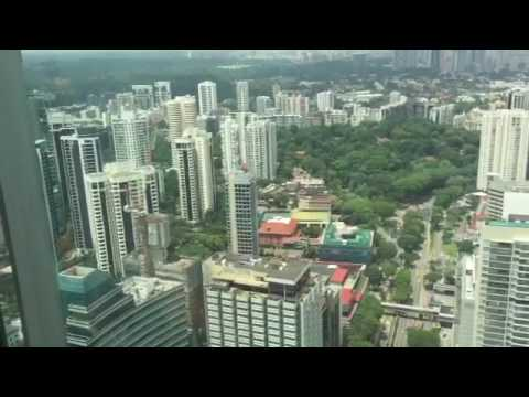 The buildings in Singapore