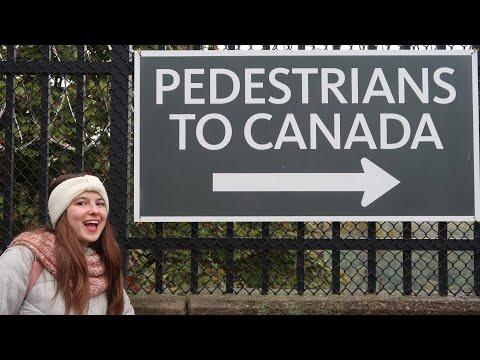I WALKED TO CANADA! 🇨🇦