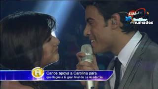 carolina y carlos rivera - vivo por ella (12-12-10 la academia bicentenario)
