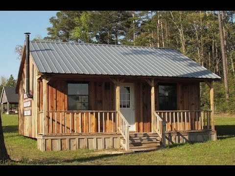 24 x 24 Simple Cabin Plans - YouTube