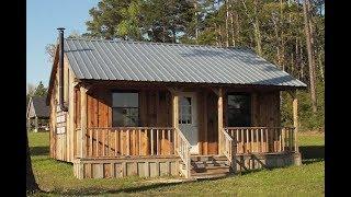 24 x 24 Simple Cabin Plans