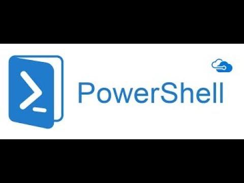 Скрипты PowerShell