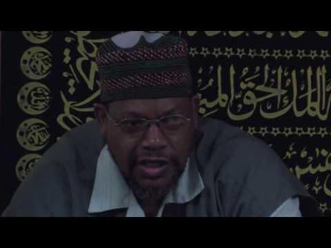 Ramadan Sessions 2016 - Imam Dr Nasir Ahmad Part 2