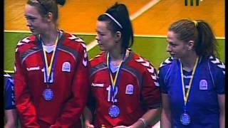 Гандбол. Женская суперлига. г.Ужгород. Церемония награждения (закрытие сезона 2012-2013 гг)