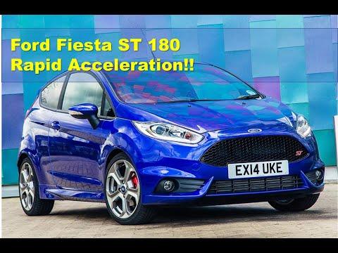 Ford Fiesta ST 250bhp Miltek Exhaust  0-60 mph 5.7 seconds