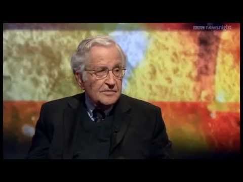 Noam Chomsky, BBC Newsnight: poorest 70% have zero impact on policy in West's 'democracy'
