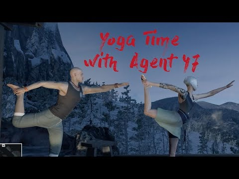 Yoga With Agent 47