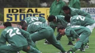 Milton Neves entrevista Carlos Alberto Parreira na Copa de 1998