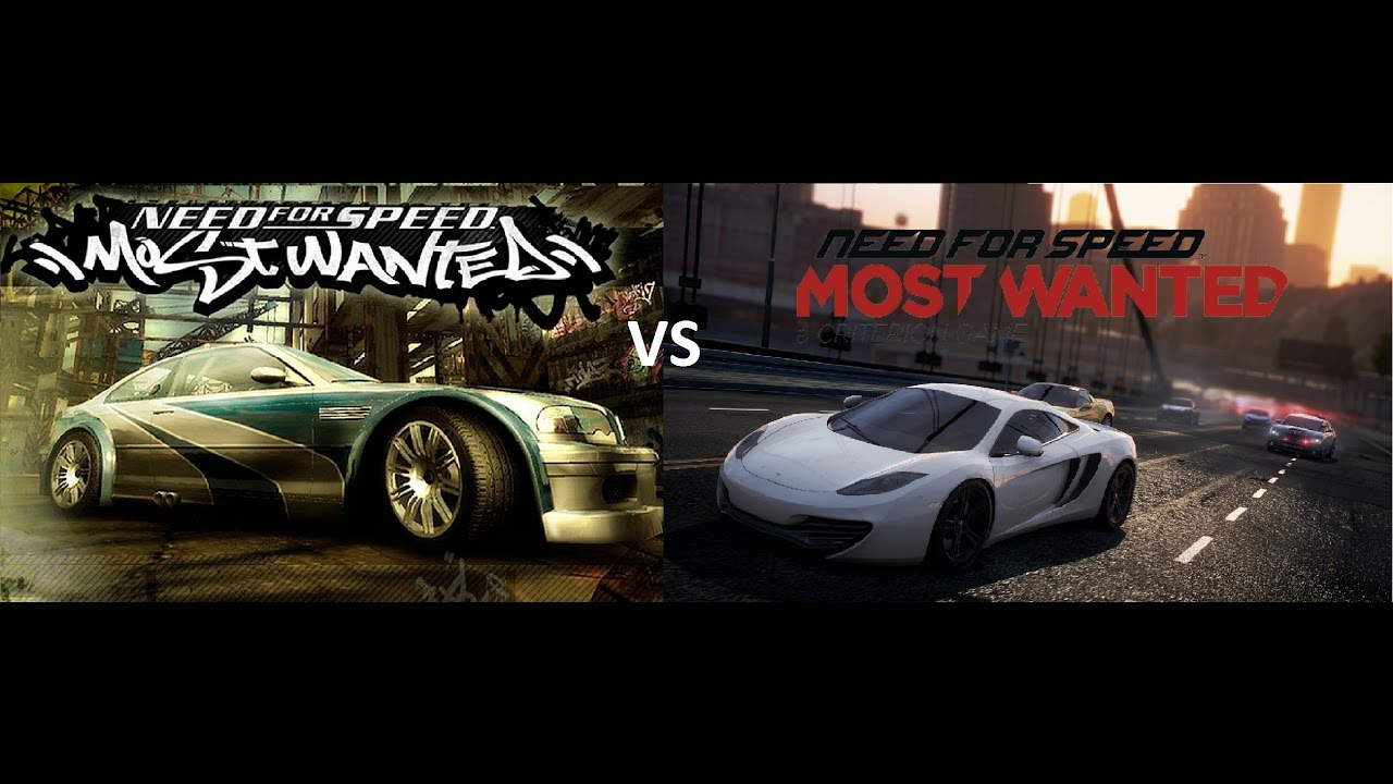 Need For Speed Most Wanted 2005 Vs 2012 Ign Boards